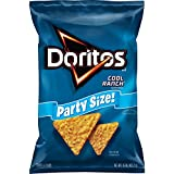 Doritos Cool Ranch Flavored Tortilla Chips, Party Size! (15 Ounce)