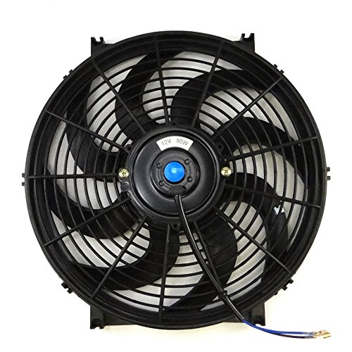 4 Inch 12 Volt Fan : Set of universal inch volt slim fan push pull