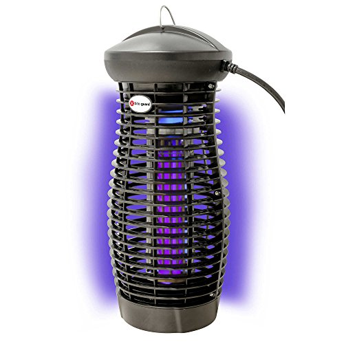 (Blue Rhino Bite-Guard 2,300 Volt Bug Zapper - Electric Mosquito Zapper with 360° Ultraviolet Lure Light and OneBait Insect Bait - Perfect for Outdoor Living Areas, Covers up to 1 Acre!)