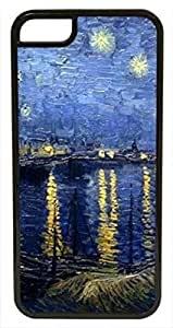 Starry Night Over ~ Personalized Custom Beauty Diy Smooth Surface Durable Tpu Rubber Silicone Case Cover Skin Unique iphone 6 Case ~ (iPhone 6, 4.7