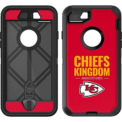 buy popular 3a888 624c0 Skinit Kansas City Chiefs Team Motto OtterBox Defender iPhone 7 Skin for  CASE - Officially Licensed NFL Skin for Popular Cases Decal - Ultra Thin,  ...