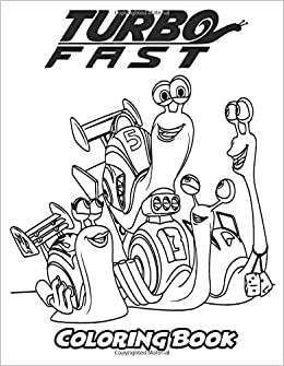Amazon.com: Turbo FAST Coloring Book: Coloring Book for Kids and Adults, Activity Book with Fun, Easy, and Relaxing Coloring Pages (Perfect for Children ...