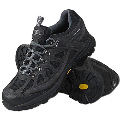 Wolf Camper Jaguar Zapatos de Senderismo negro