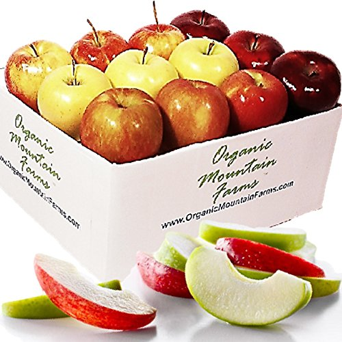 Apple Fruit Basket from Organic Mountain (One Dozen (12))