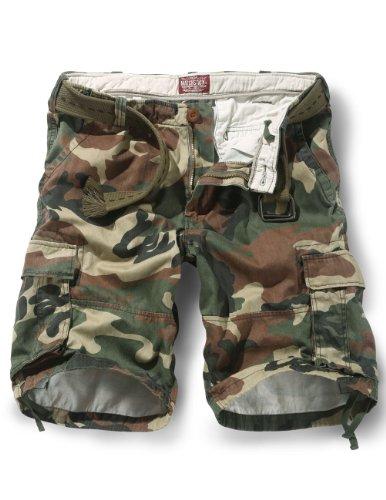 "Match Men's Thin Fabric Cargo Shorts(3620 #3Max,W36"")"