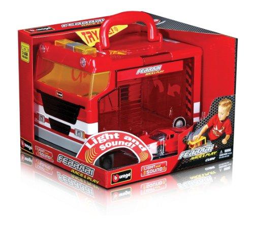Bburago Enzo Race Play Ferrari with Lights & Sound (1:43 Scale) (Enzo Ferrari Car)