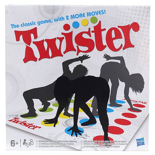 Hasbro 1498831 - Twister Kinderspiel Hasbro (HASXF) 14988311