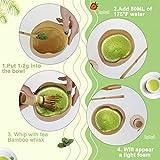 Anpro Bamboo Matcha Tea Whisk Set, Bamboo Whisk