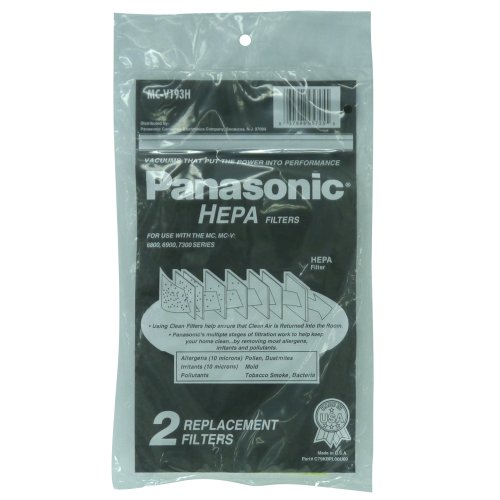 Panasonic Replacement Vacuum HEPA Filter