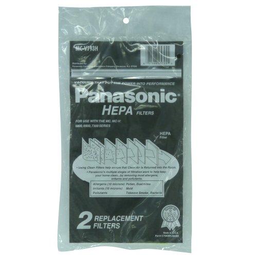 Panasonic Hepa Type V6800/ V6900/V7300 Series Filter (Pack of 2)