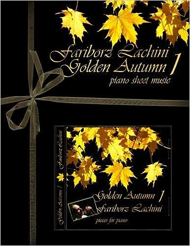 Golden Autumn 1 Piano Sheet Music Original Solo Piano Pieces