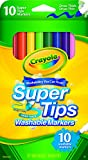 Arts & Crafts : Crayola Washable Super Tip Markers (10 Count)