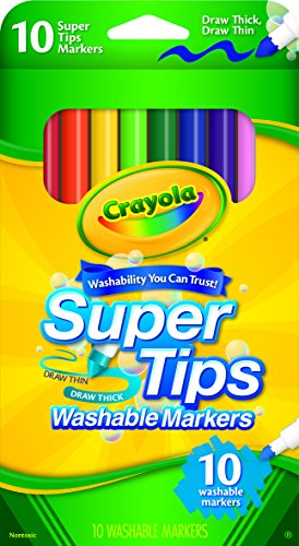 Crayola Washable Super Markers Count