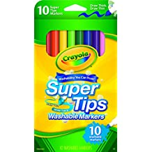 Crayola Washable Super Tip Markers (10 Count)
