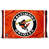 Baltimore Orioles Vintage Flag and Banner