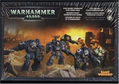 s Figuras coleccionables, Gris, Adultos y ni/ños, Warhammer 40000, De pl/ástico, 12 a/ño Games Workshop Terminator Close Combat Squad Figuras coleccionables Adultos y ni/ños FiFiguras de acci/ón y colleccionables