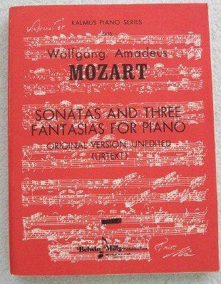 3690 Series - Sonatas & Three Fantasias for Piano. Original Version, Unedited (Urtext) (Kalmus Piano Series, No. 3690)