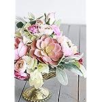 Afloral-Mini-Silk-Ranunculus-Bush-in-Pink-Cerise-10-Tall