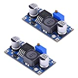 BronaGrand 2pcs LM2596 DC to DC Buck Converter Step Down Module Power Supply 3.0-40V to 1.5-35V