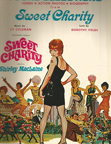Sheet Music- Sweet Charity Vocal Selections 1969