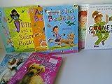 Girls Series Mix: Amelia Bedelia Chapter Book Series #1 - 2; Mermaid SOS (#1-2); Magic Puppy, Cloud Capers; Gooney Bird Greene; Gooney the Fabulous