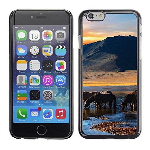 "Premio Sottile Slim Cassa Custodia Case Cover Shell // V00004030 chevaux sauvages 2 // Apple iPhone 6 6S 6G PLUS 5.5"""