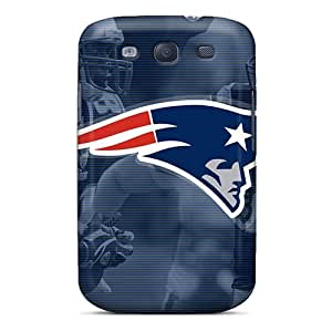 Protective Hard Cell-phone Cases For Samsung Galaxy S3 (SMx29337FyAv) Customized Lifelike New England Patriots Image