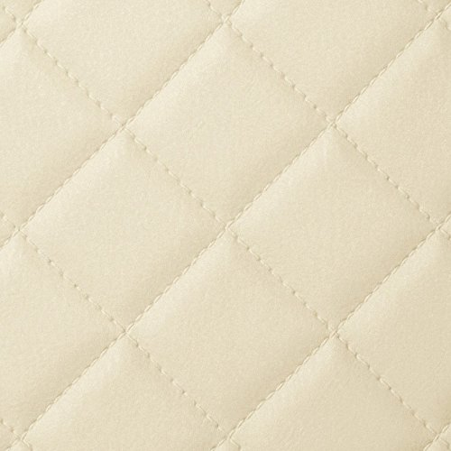 WallFace 13863 ROMBO Wall panel self-adhesive Leather design plaid Luxury wallcovering wallplate cream | 2,6 sqm by Wallface (Image #6)