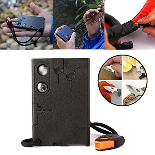 Endurance Stab - Outdoor Portable Credit Card Knife Multifunction Pocket Survival Tool - Selection Fittest Natural - 1PCs by Unknown