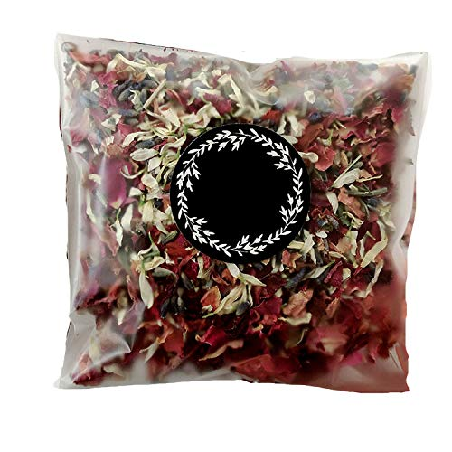 Natural Wedding Confetti Throwing Bags Dried Flower Petals Pops Wedding and Party Decorations Biodegradable Rose Petal Confetti,Throw Me]()