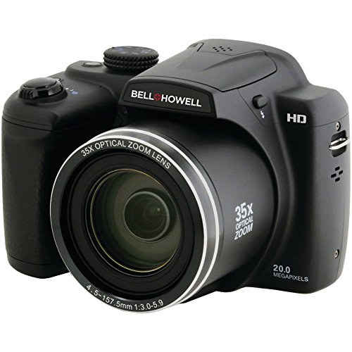 BELL+HOWELL B35HDZ 20.0 Megapixel B35HDZ Digital Camera with 35x Optical Zoom electronic consumer