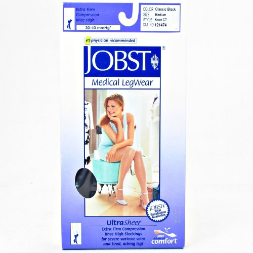 Jobst UltraSheer MATERNITY Pantyhose Moderate Compression 15-20mmHg M - Silky Beige (Support Pantyhose Sheerest)