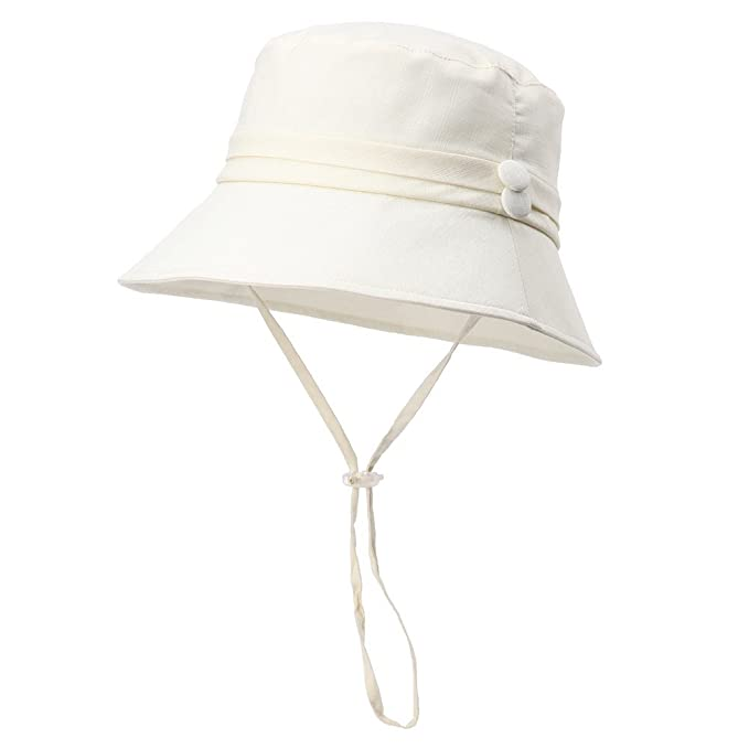 0066e33483e2a Siggi Womens Bucket Cord Sun Summer Beach Hat with Small Brim for Ladies  Foldable Packable UPF50+ Beige: Amazon.ca: Clothing & Accessories