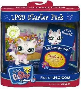 Hasbro Littlest Pet Shop Online LPSO Starter Pack Felina Murchent Figure  [Cat]