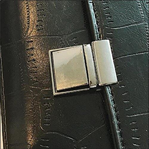 Petit Black Portatif Diagonal Crocodile Paquet D'épaule Femmes Carré Les De De Paquet Paquet Modèle xYRvw0Oqn