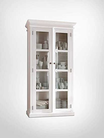 Amazon.com - NovaSolo Halifax Pure White Mahogany Wood Double ...
