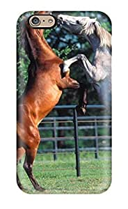 Durable Case For The Iphone 6- Eco-friendly Retail Packaging(horse)