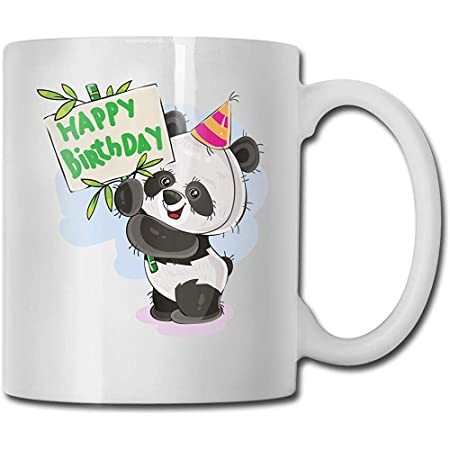 Feliz cumpleaños taza de café de cerámica para oficina y ...