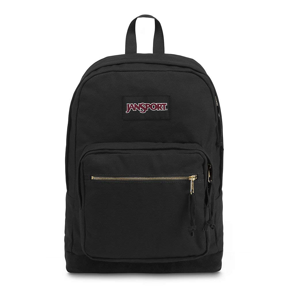 JanSport Right Pack Expressions Laptop Backpack - Black/Gold by JanSport