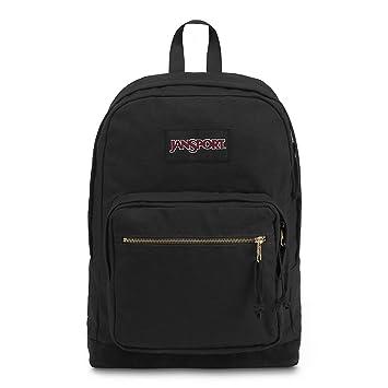 Amazon.com  JanSport Right Pack Expressions Laptop Backpack - Black ... 1ec37f5c6d91a