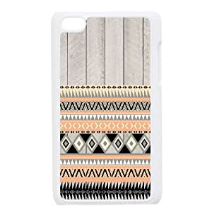 C-QUE Customized Phone Case Of Aztec Tribal For Ipod Touch 4