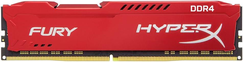 Kingston Technology HyperX Fury Red 16GB 2666MHz DDR4 CL16 DIMM (HX426C16FR/16)