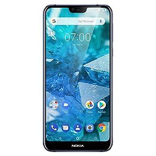 "Nokia 7.1 - Android 9.0 Pie - 64 GB - Dual Camera - Dual SIM Unlocked Smartphone (Verizon/AT&T/T-Mobile/MetroPCS/Cricket/H2O) - 5.84"" FHD+ HDR Screen - Blue - U.S. Warranty"