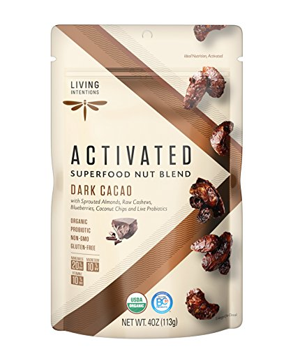 LIVING INTENTIONS NUT BLEND DARK CACAO