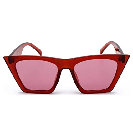 DEFG&FAD Gafas de Sol Grandes con Marco Grande para Mujer ...