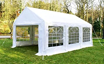LARGE OUTDOOR EVENT GAZEBO PARTY TENT MARQUEE WEDDING PAVILION CARPORT 3X3 4 6M