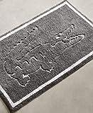 "Lacoste Legend 100% Cotton Bathroom Rug, 20"" W x"