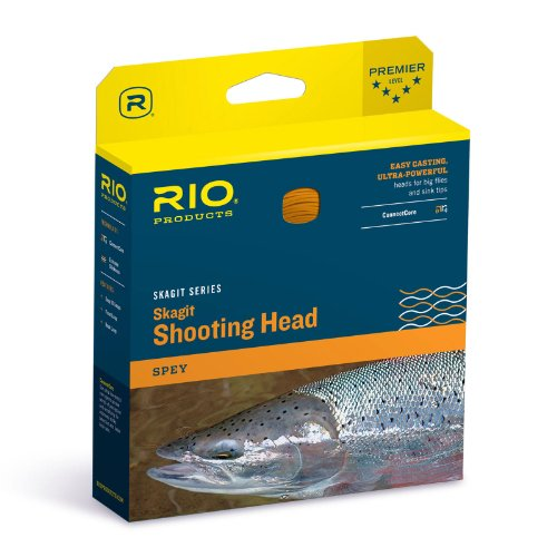 - Rio Fly Fishing Fly Line Maxi-Short Shad 500gr Fishing Line, Teal/Orange