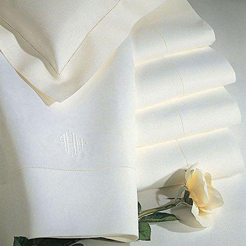Classico by Sferra - King Pillow Case 22x42 (White) by Sferra