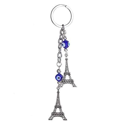 Kanggest. Torre de Paris Cadena de Clave Pequeños Coche ...